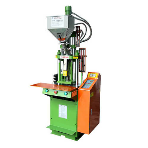 Manual plastic injection molding machine