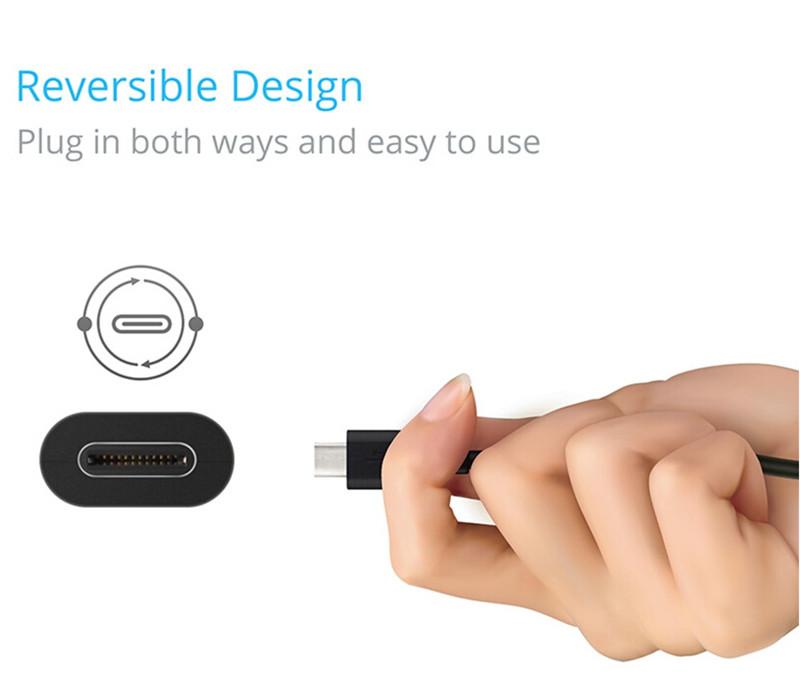 what is usb type c Reversible Design