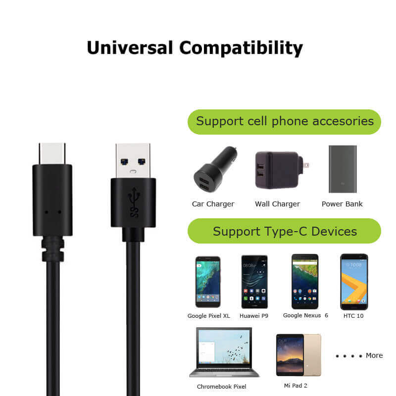 USB C to USB A Cable CAPC3010