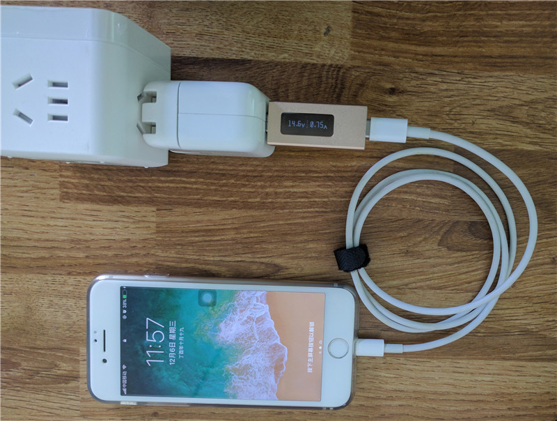 apple usb c to lightning cable test